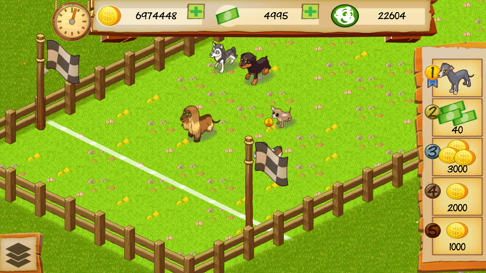 Dog Park Tycoon- screenshot