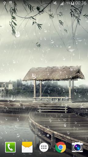 雨滴ライブ壁紙PRO HD無料