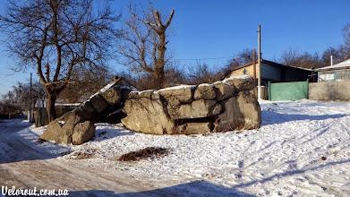 Photo: ДОТ 551. Взорван