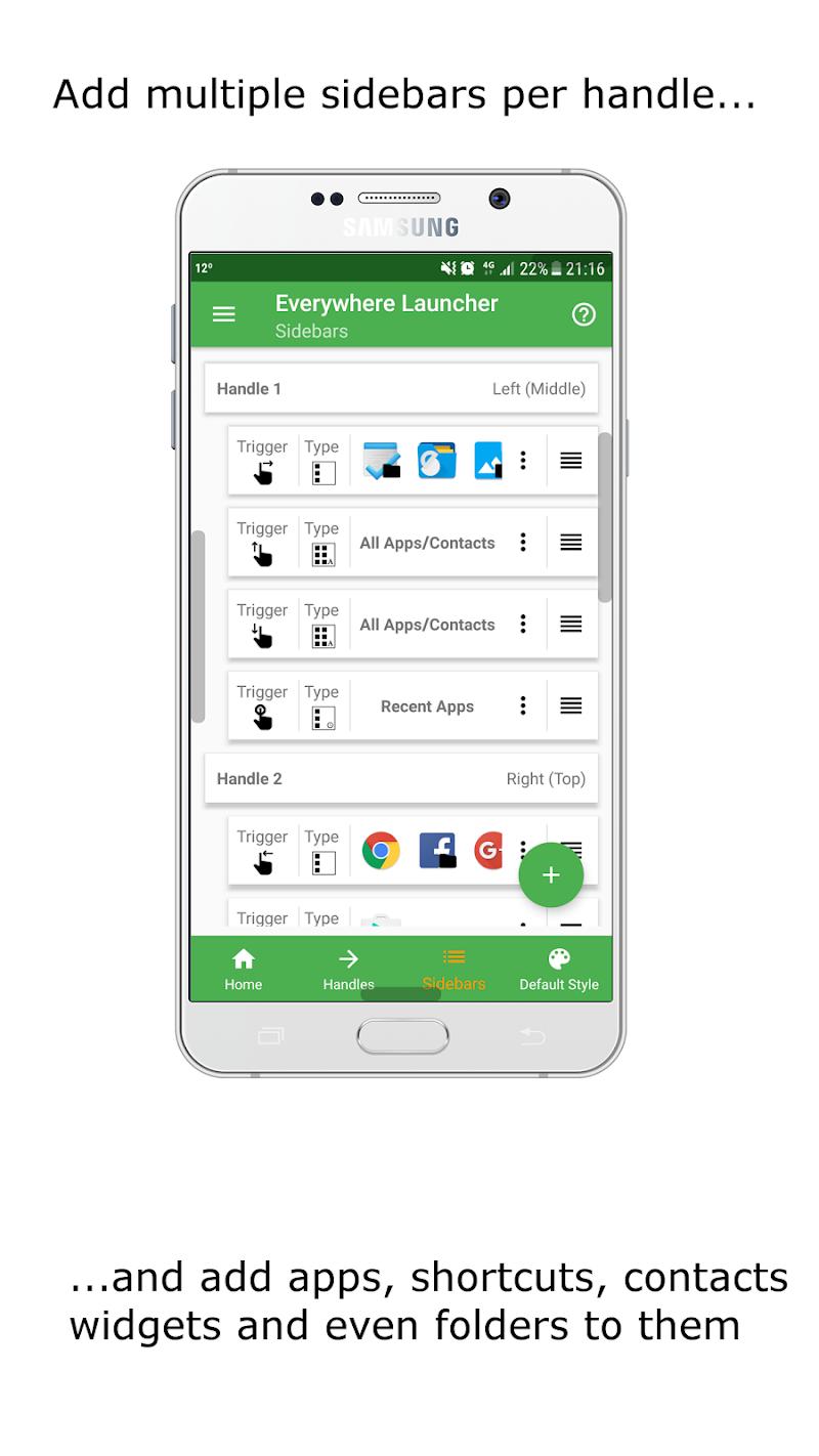 Everywhere Launcher - Sidebar Edge Launcher Screenshot 4