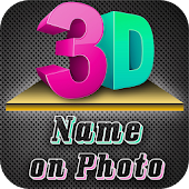3D Name art Maker - 3D Stylish Text on Photo
