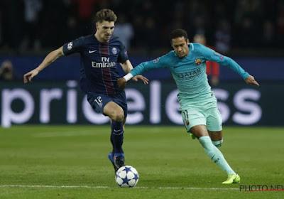 Barcelona afgemaakt bij PSG van Meunier, Belg tekent assist aan