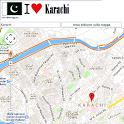 Karachi map icon