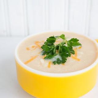 Cream of Chicken & Cauliflower Soup.