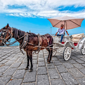 TAXI by Svein Hurum - Transportation Other ( crete )