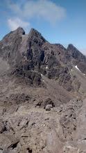 Photo: Sgurr Alasdair and Sgurr Thearlaich seen from the South