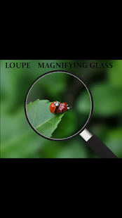 Loupe Glass Magnifier free - náhled