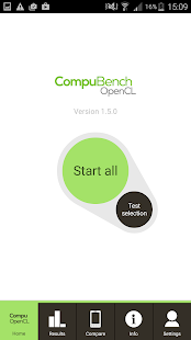 CompuBench CL Mobile- screenshot thumbnail
