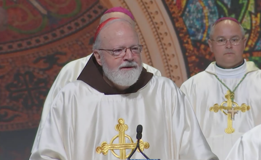 Cardinal O'Malley calls for curtailing gun rights
