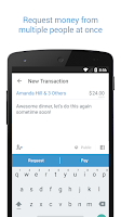 Screenshot of Venmo