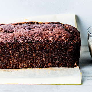 Buckwheat Banana Cake with Yogurt-Espresso Frosting Recipe