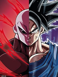 Best Goku VS Jiren HD Wallpaper - náhled