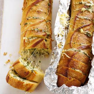 Cheesy Garlic Baguettes.