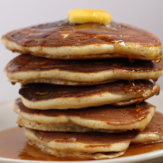Fluffy Protein Pancakes.