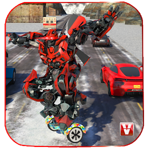 Steel Robo: Hover board Rider for PC and MAC
