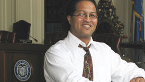 Photo: July 2011: Luis Cotto, city councilor in Hartford, CT.  Read his profile: http://www.constitutioncampaign.org/blog/?p=2427