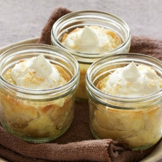 Coconut Cream Jar Pies.