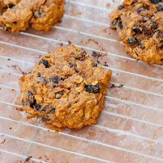 Healthy Vegan Peanut Butter Breakfast Cookies
