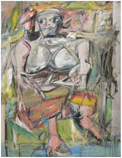 Willem de Kooning (1904-1997)  Woman I