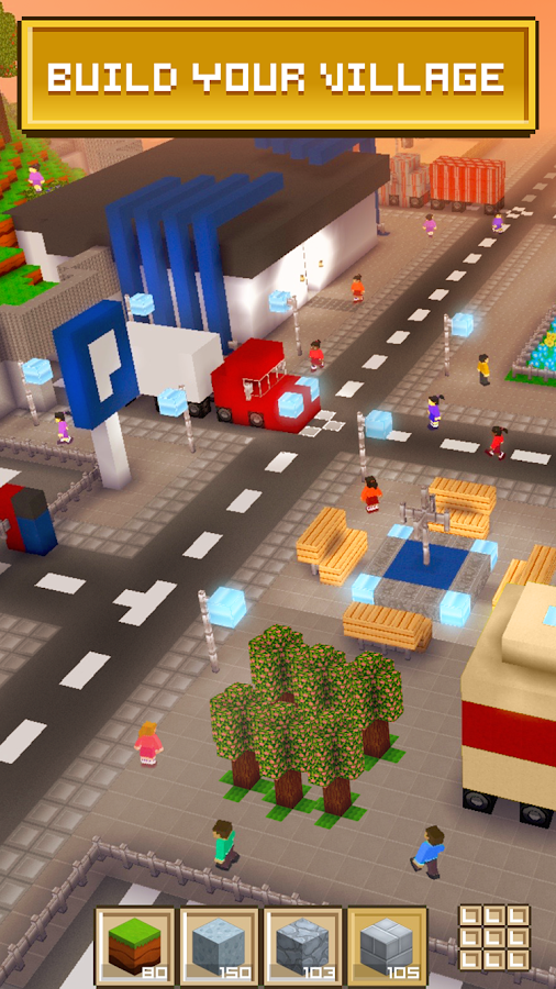 Block craft 3d free simulator android apps on google play for Block craft 3d games