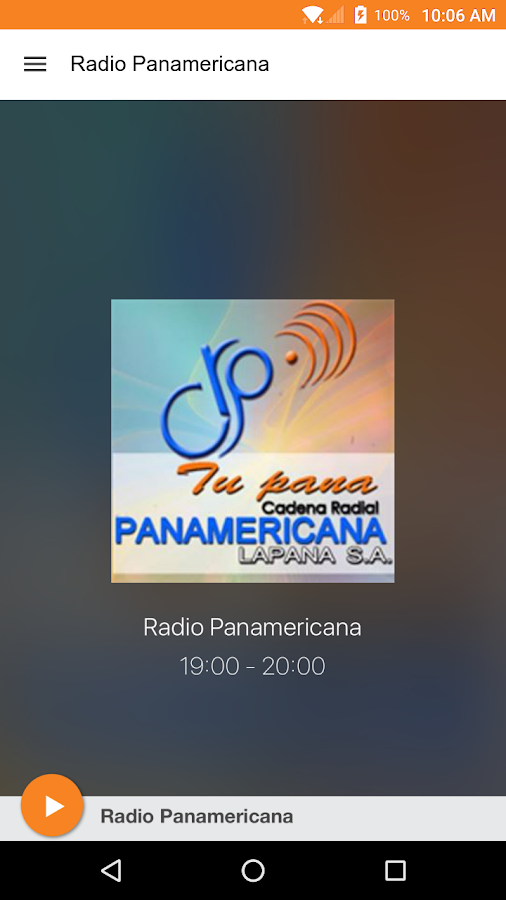 Radio Panamericana Tu Pana- screenshot