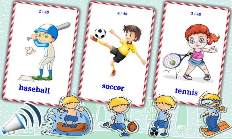 Sports Flashcards 4