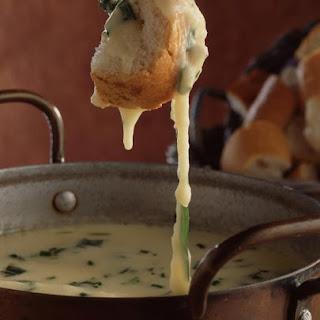 Herbed Cheese Fondue.