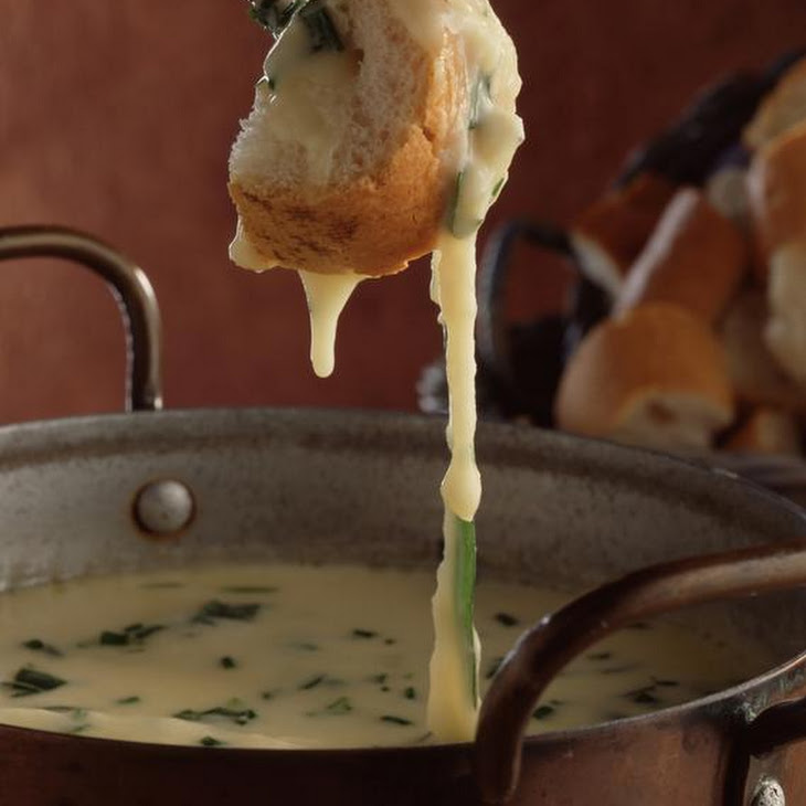 Herbed Cheese Fondue
