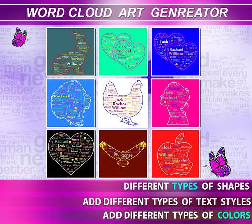 Word Cloud Art Generator screenshot 17