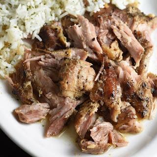 Slow Cooker Cuban Pork Roast.