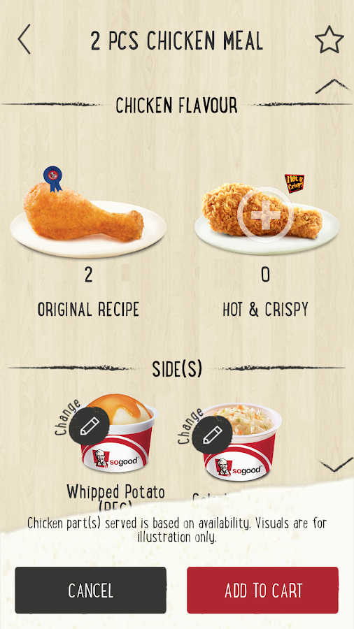 KFC BeatTheQ- screenshot