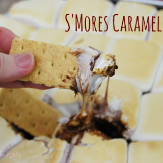S'mores Caramel Dip