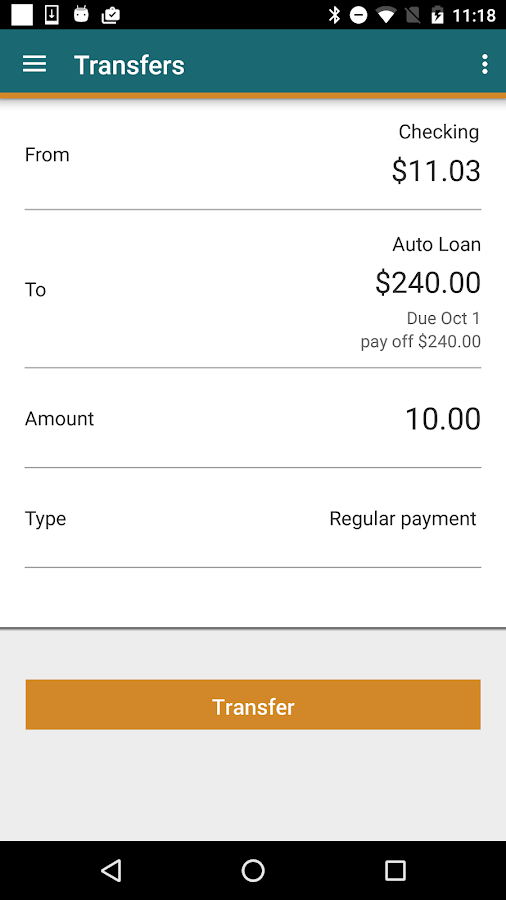 Horizon Mobile Banking- screenshot