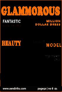 magazine photo cover - náhled