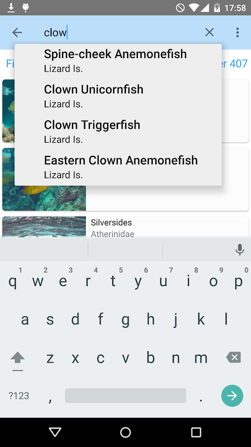 Lizard Island Field Guide- screenshot