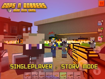 Cops N Robbers - FPS Mini Game- screenshot thumbnail