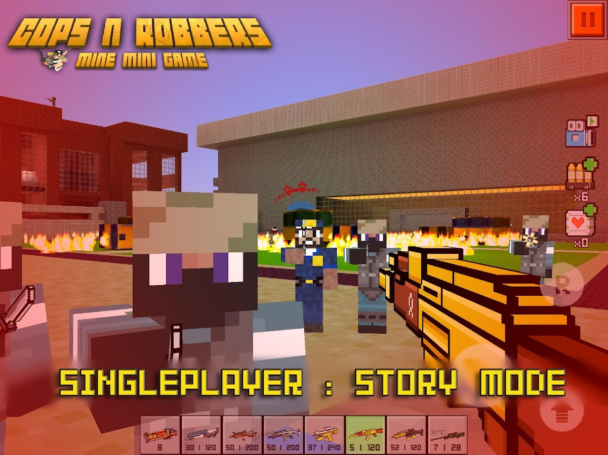 Cops N Robbers - FPS Mini Game- screenshot