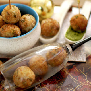 GREEN PEAS and BROWN RICE CROQUETTES Recipe