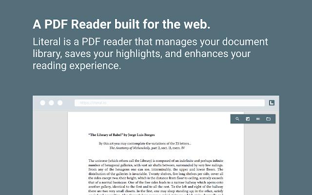 Literal - PDF Reader