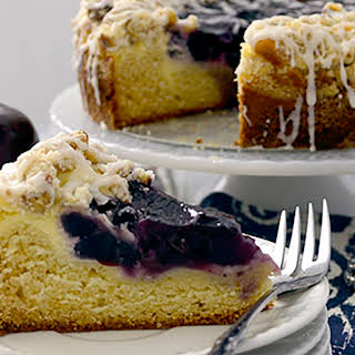 Apple Blueberry Coffee Cake.