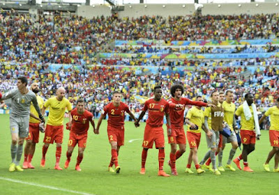 La Belgique provisoirement 4ème du ranking FIFA