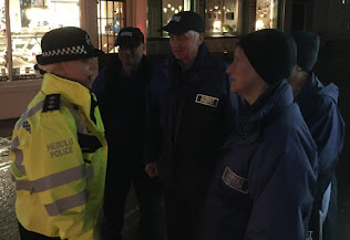 Police were out tackling under-age drinking