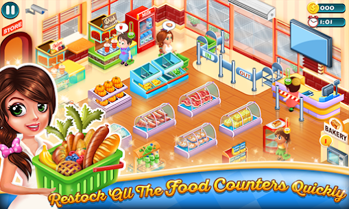 Supermarket Tycoon MOD APK 1.58 [Unlimited Money + No Ads] 2