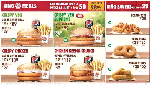 Burger King menu 2