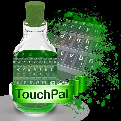 黒とグレー TouchPal 個人化 App LOGO-硬是要APP