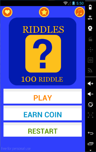 Riddle Me That 100 riddles