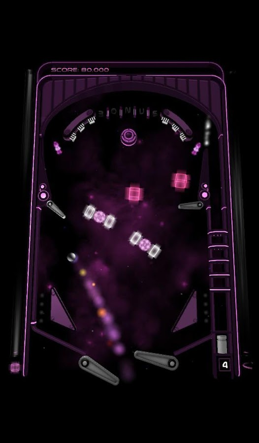 Hyperspace Pinball- screenshot