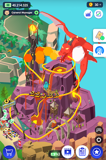 Idle Theme Park Tycoon - Recreation Game 1.26 screenshots 2