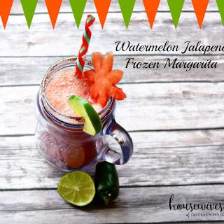 Watermelon Jalapeno Frozen Margarita!