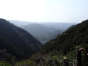 岩の上から展望